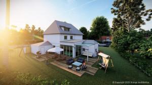 DHH Komplettsanierung mit Anbau und Dachgauben in Gelsenkirchen